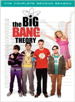 The Big Bang Theory: The Complete Second Season (DVD) 5440106