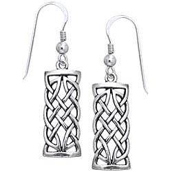 CGC Sterling Silver Celtic Creativity Woven Earrings