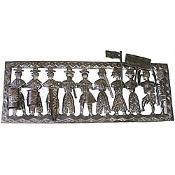 Haitian Metal Art - Peasant Band
