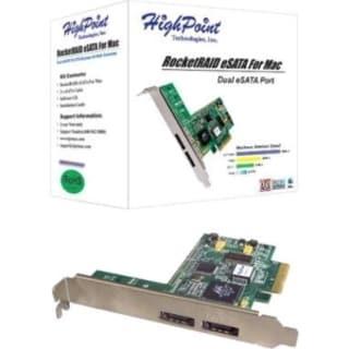 HighPoint RocketRAID 2-Ports SATA RAID Controller