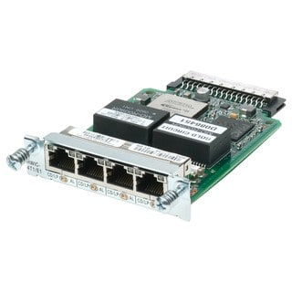 Cisco 4-Port Clear Channel T1/E1 HWIC