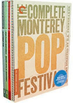 The Complete Monterey Pop Festival Box Set - Criterion Collection (Blu-ray Disc) 5504898