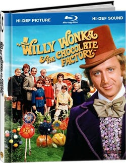 Willy Wonka & The Chocolate Factory Digibook (Blu-ray Disc) 5506356