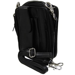 Journee Collection Mini Carry-all Leather Bag
