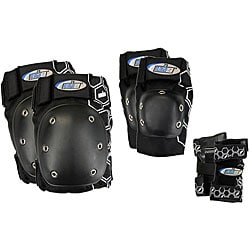 MBS Black Large Core Tri-pack Protective Pads