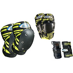 MBS Pro Small Yellow Tri-pack Pads