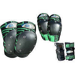 MBS PRO Medium Green Tri-pack Pads