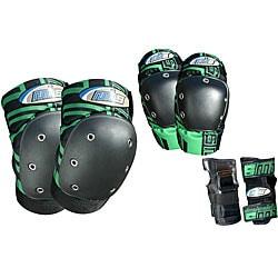 MBS PRO Medium Green Tri-pack Pads
