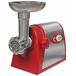 Weston Electric #5 Deluxe Meat Grinder with Tomato Strainer