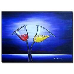 'Moonlit Toast' Canvas Art