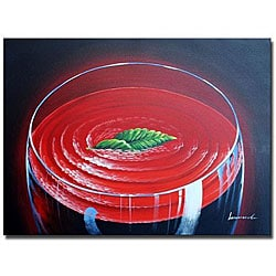 'Day at the Pool' Canvas Art