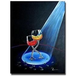 'Make it Rain' Canvas Art