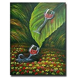 'Jungle Slide' Canvas Art