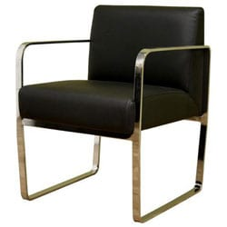 Contemporary Leather Dining Chair