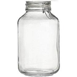 Bormioli Rocco 5-liter Italian Fido Glass Canning Jars (Set of 3)