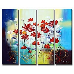 'Floral Festival' Canvas Art