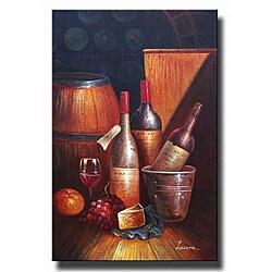 'Bacchus' Canvas Art