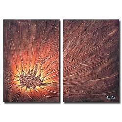 'Fire Flying' Canvas Art
