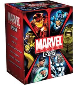 Marvel Animation 6 Film Set (DVD) 5719933