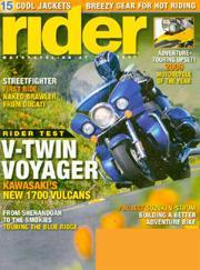 Rider, 12 issues for 1 year(s) 5722964