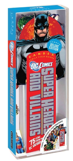 DC Comics Super Heroes and Villains: 75 Icons from the DC Universe!, Fandex Deluxe Edition (Cards) 5738663