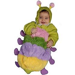 Infant Girl's Furry Caterpillar Costume