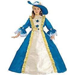 Girl's Majestic Blue Princess Costume