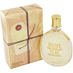 Diesel Fuel for Life Women's 2.5-ounce Eau de Parfum Spray