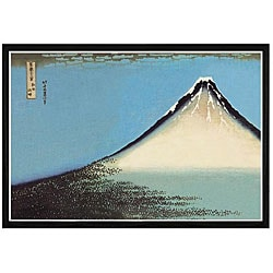 'Mount Fuji' Framed Print Art