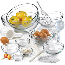 Anchor Hocking 10-piece Mixing Bowl Set