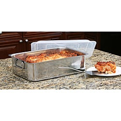 Deep Stainless Steel Roasting Pan