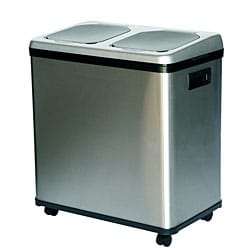 iTouchless NX 16-gallon Stainless Steel Recycle Bin 5792887