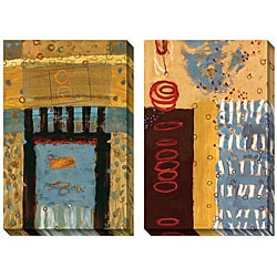 AA Phoenix 'Verada' Oversized Canvas Art Set