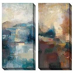 Bailey 'Seasonal Tones I & II' Oversized Canvas Art Set
