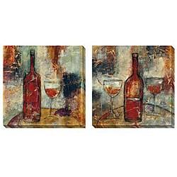 Jane Bellows 'The Good Life' Canvas Art Set