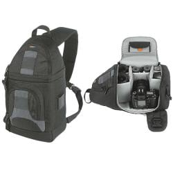 LowePro SlingShot 102 AW Black Camera Backpack