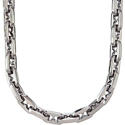 Stainless Steel Razor-link Necklace
