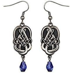 Pewter Celtic Teardrop Earrings