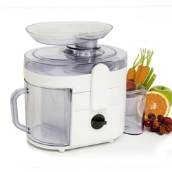 White 2-speed Fruit/ Vegetable Juice Extractor 5853100