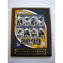 San Diego Chargers Team Picture Plaque 5859711