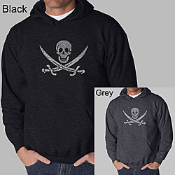 Los Angeles Pop Art Men's Pirate Hoodie