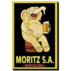 'Moritz S.A.' Giclee Canvas Art