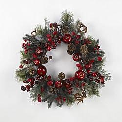 Apple Berry 22-inch Wreath
