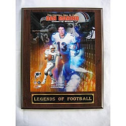 Dan Marino Legends of Football Plaque
