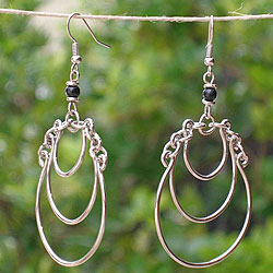 Silverplated Friendships Earrings (Kenya)