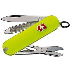 Victorinox Swiss Army Classic Stay Glow 7-tool Pocket Knife