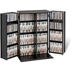 Broadway Locking DVD/CD Media Storage Cabinet