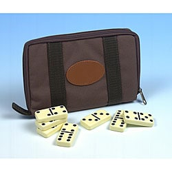 Travel Double Six Dominoes