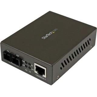StarTech.com 1000 Mbps Gigabit Single-Mode Fiber Ethernet Media Conve