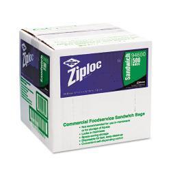 Ziploc Resealable Sandwich Bags (Box of 500)